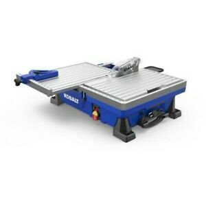Tile Saw Wet Tabletop Sliding Table Removable Rear Extension Tray