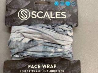 Scales Face Wrap Camo Print