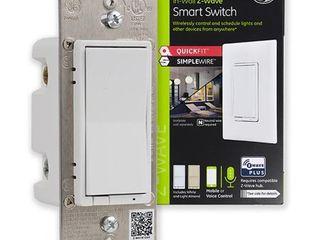 GE   Z Wave Plus Smart In Wall Switch   White   light Almond