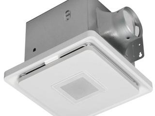 Home Netwerks 1 5 sone 110 cfm Bathroom Fan with Speaker