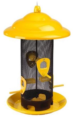 Funnel Flip Top Mesh Bird House