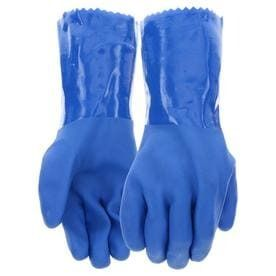 Blue Hawk large Men s Rubber Chemical Gloves