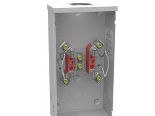 Milbank 200 Amp Ringless Single Phase  120 240  Meter Socket