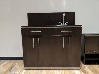 Cabinet With Sink  Buyer Responsible For Removal