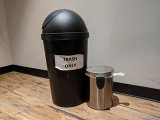 2  Trash Cans
