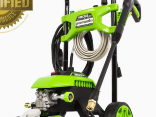 GreenWorks 1800PSI Electric Pressure Washer  GPW1803