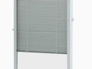 White Cordless 22  X 36  Aluminum blinds Add on Raised frame Patio door   Window