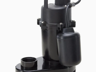 Utilitech Cast Aluminum Submersible Sump Pump 1 2 Hp 115v 55 Gpm 0955624