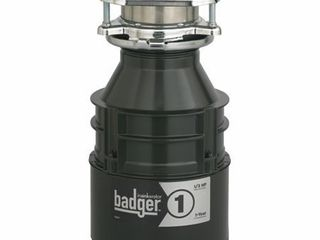 InSinkErator Badger 1  1 3 HP Household Food Waste Disposer
