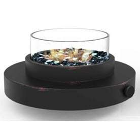 Endless Summer 14 in W 6 000 BTU Oil Rubbed Bronze Portable Tabletop Steel liquid Propane Gas Firebowl