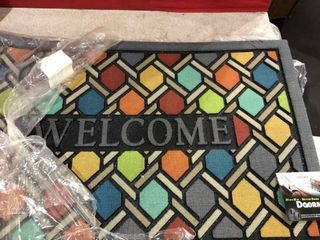 Mohawk Home 23 X 35 Recycled Rubber Welcome Doormat