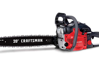 Craftsman 2  Cycle Gas Chain saw with Case  CMXGSAMY462S