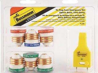 Bussmann Time Delay Plug Fuse Emergency Kit