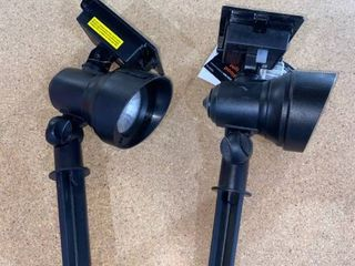 Solar lED Flood light Reflector  0829146 Set of 2