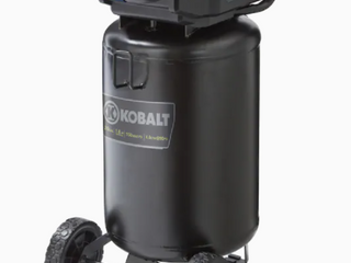 Kobalt 20gal 1 8 HP 150 MAX PSI 4 0 CFM  90PSI