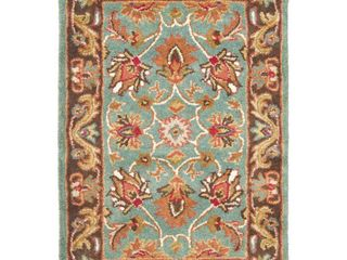 2 3 x4  Floral Tufted Accent Rug Blue Brown   Safavieh