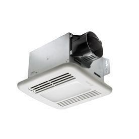 Delta Breez 1 5 Sone 100 CFM White Bathroom Fan ENERGY STAR