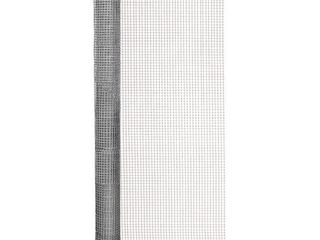 Origin Point 122410 23 Gauge Galvanized Hardware Cloth Fence  10 Foot x 24 Inch With 1 4 Inch Openings