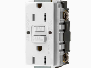 Brand Hubbell White Self Test 15 Amp Gfci Outlet 3 Pack