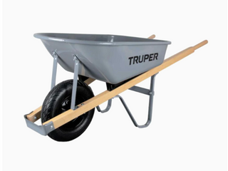 5 5 Cu  Ft  Steel Tray For Wheelbarrow Garden Planting landscaping lifting Tool