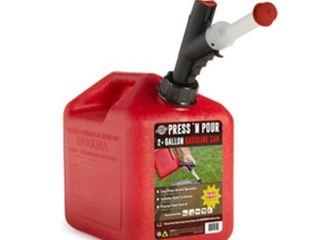 GarageBOSS Press  N Pour 2  Gallon Gas Can