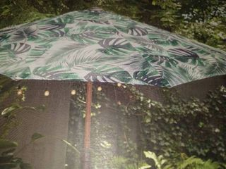 allen and roth  1457546 umbrella 8 35 ft x 8 35 ft x 7 84 ft