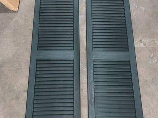 Open louver 14 5  x 47  Pine  046 item  VBl15X47PN Box Set Of 2