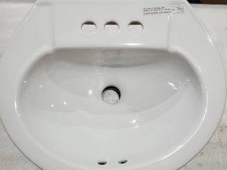 Pedestal Sink Basin