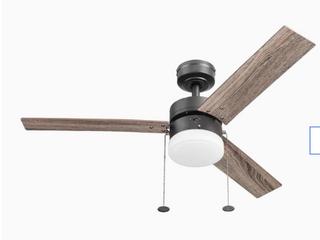 Harbor Breeze Vue 44 in Bronze led Indoor Ceiling Fan With light Kit  1362367