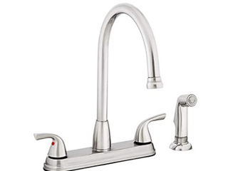 Project Source Kitchen Faucet Hi arc And Side Spray