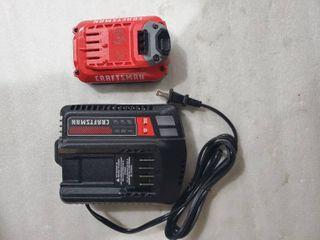 Craftsman 12v 20v Battery and Charger