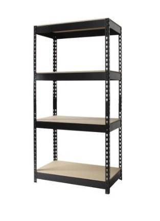 Iron horse 3800 lb riveted shelving