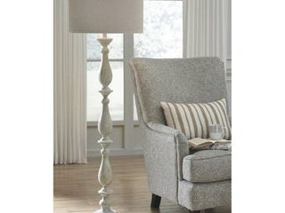 Bernadate Whitewash 62 Inch Floor lamp Retail 135 49