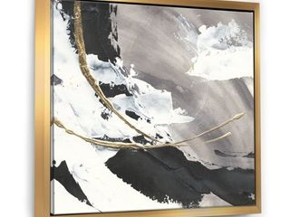 Designart   Glam Painted Arcs II   Transitional Framed Canvas Retail 111 99