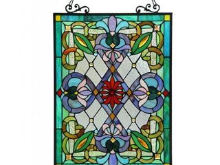 Chloe Tiffany style Victorian Design  Tree of life  Window Panel Retail 154 99