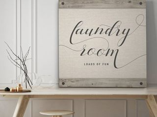 laundry Room   Premium Gallery Wrapped Canvas   4 Sizes Available
