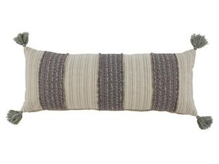 Signature Design by Ashley linwood Gray Cream Pillow