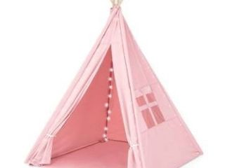 Teepee Tent for Children with Carry Case  Toys for Girls Boys Playing   1pc
