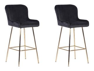 Ace Casual Furniture Pagel Counter Stool with Metal legs  Set of 2  Retail 207 49