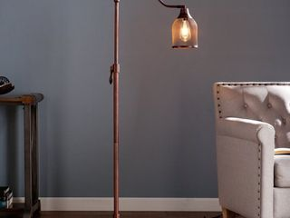 Ranell 58 Inch Copper  Bronze Industrial Metal Floor lamp Retail 77 98