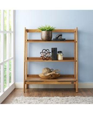 landon Acorn Wood Bookcase   36 13  W x 15  D x 43 5  H Retail 163 99