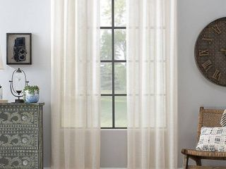 Archaeo Textured linen 52  x 84  Curtain