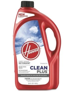 Hoover   2X CleanPlus 64 Oz  Carpet Cleaner and Deodorizer   Green