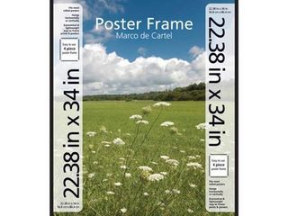 Mainstays 22 38  x 34  Basic Poster and Picture Frame  Black