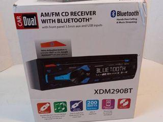 Cardual XDM290BT Am fm CD Receiver Only