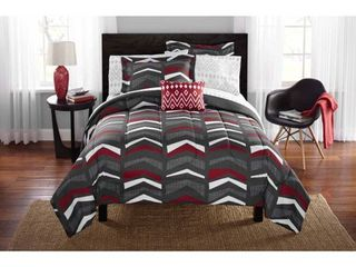 Mainstays Tribal Bed in a Bag Bedding  Twin Twin Xl