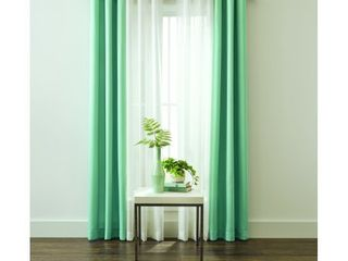 Better Homes and Gardens Textured Twill Weave and Sheer Window Curtain Panel 4 Piece Set