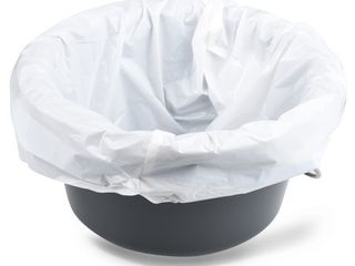 Equate Commode liner Bags with Absorbent Pad  12 liners