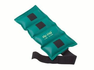 The Cuff Original Adjustable Ankle and Wrist Weight for Yoga  Dance  Running  Cardio  Aerobics  Toning  and Physical Therapy  4 lb   Turquoise