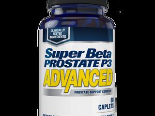 Super Beta Prostate P3 Advanced for Prostate Health  Capsules  60 Ct  3 pack